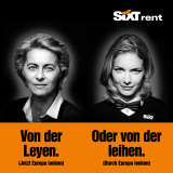 Ad poster for SIXT campaign