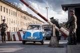 The BMW Isetta at the german border control.