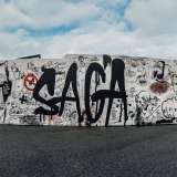 Graffiti by he JvM/SAGA